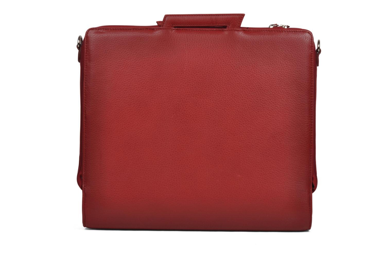 Business Lin & Gelli Elegy Laptop Rouge vue face