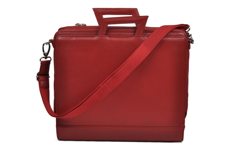 Business Lin & Gelli Elegy Laptop Rouge vue derrière