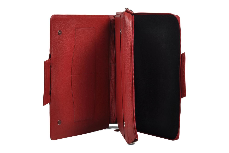 Business Lin & Gelli Elegy Laptop Rouge vue gauche
