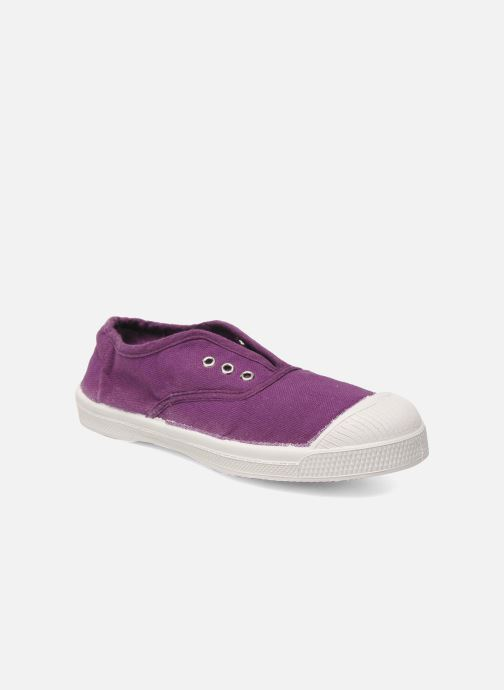 Trainers Bensimon Tennis Elly E Purple detailed view/ Pair view