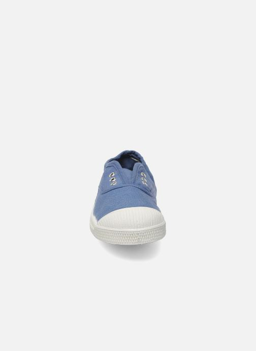 Sneakers Bensimon Tennis Elly E Azzurro modello indossato