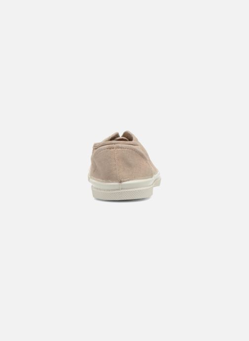 Trainers Bensimon Tennis Elly E Beige view from the right