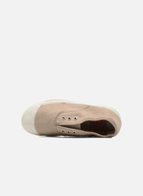 Trainers Bensimon Tennis Elly E Beige view from the left