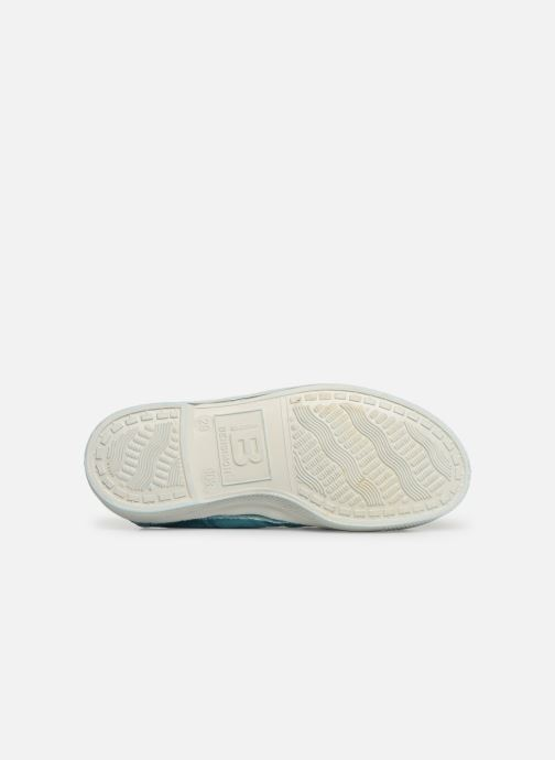 Trainers Bensimon Tennis Elly E Green view from above