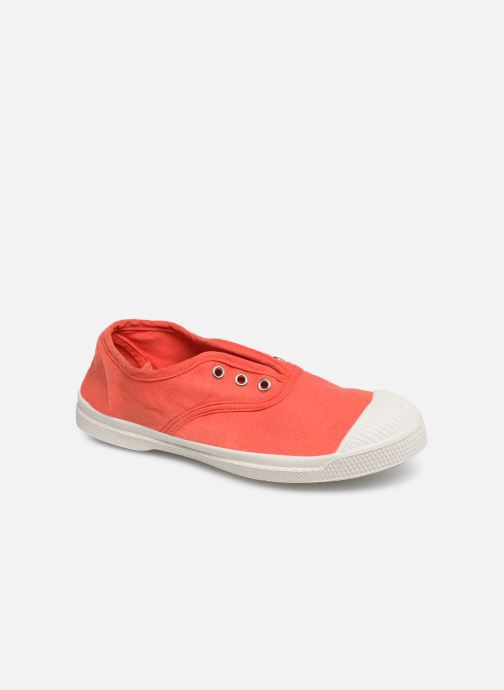 Trainers Bensimon Tennis Elly E Red detailed view/ Pair view