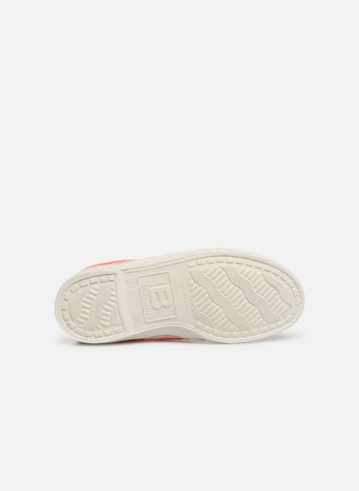 Baskets Bensimon Tennis Elly E Rose vue haut
