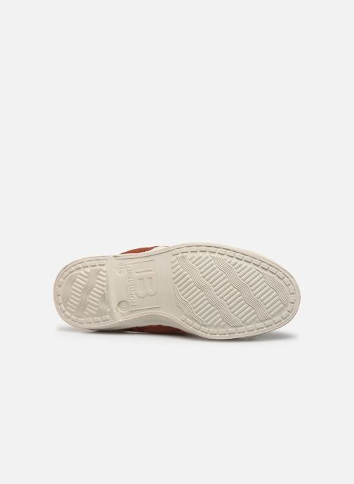 Baskets Bensimon Tennis Elly E Rouge vue haut