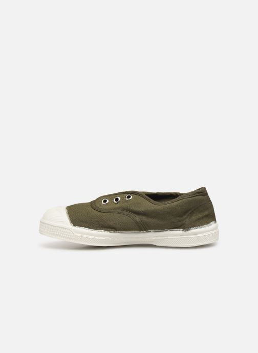 Baskets Bensimon Tennis Elly E Vert vue face
