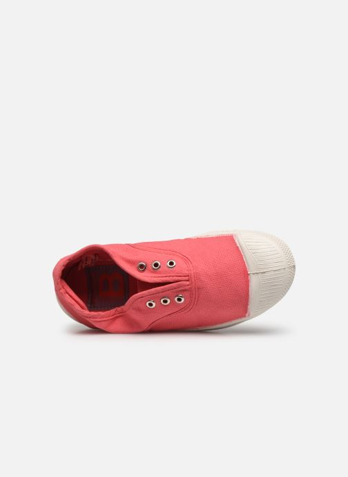 Baskets Bensimon Tennis Elly E Rose vue gauche