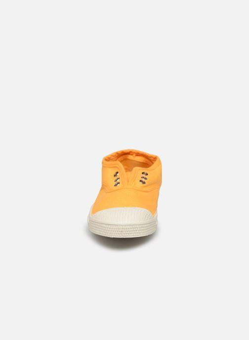 Sneakers Bensimon Tennis Elly E Giallo modello indossato