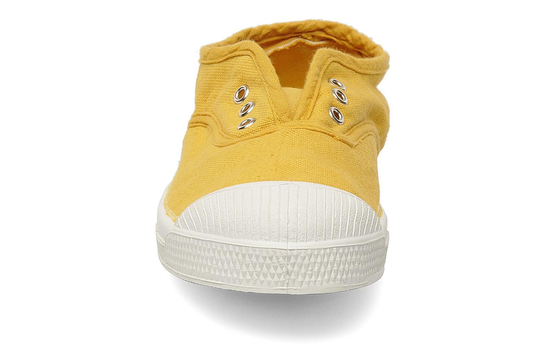 Baskets Bensimon Tennis Elly E Jaune vue portées chaussures