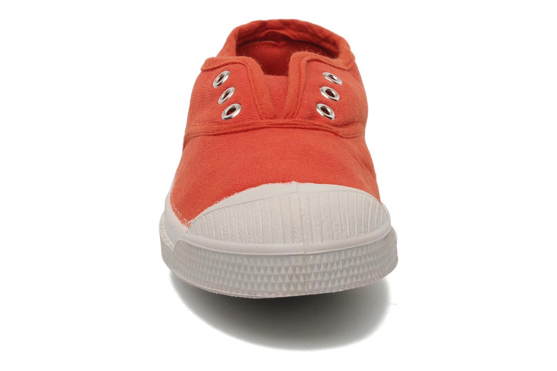 Baskets Bensimon Tennis Elly E Orange vue portées chaussures