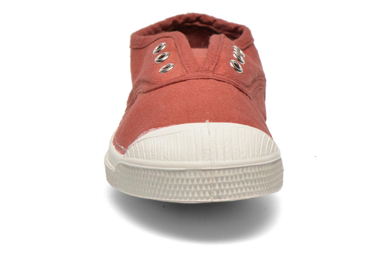 Baskets Bensimon Tennis Elly E Bordeaux vue portées chaussures