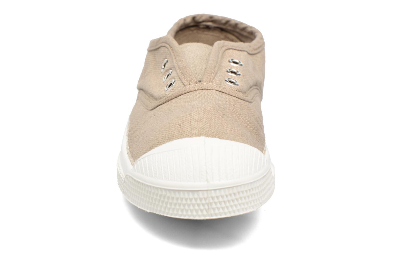 Baskets Bensimon Tennis Elly E Beige vue portées chaussures