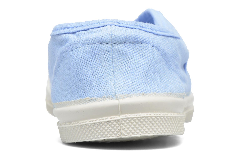 Baskets Bensimon Tennis Elly E Bleu vue droite