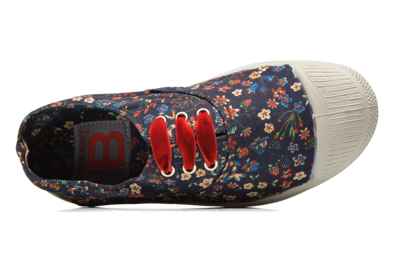 Baskets Bensimon Tennis Liberty E Multicolore vue gauche