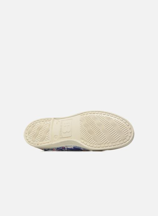 Baskets Bensimon Tennis Liberty Bleu vue haut