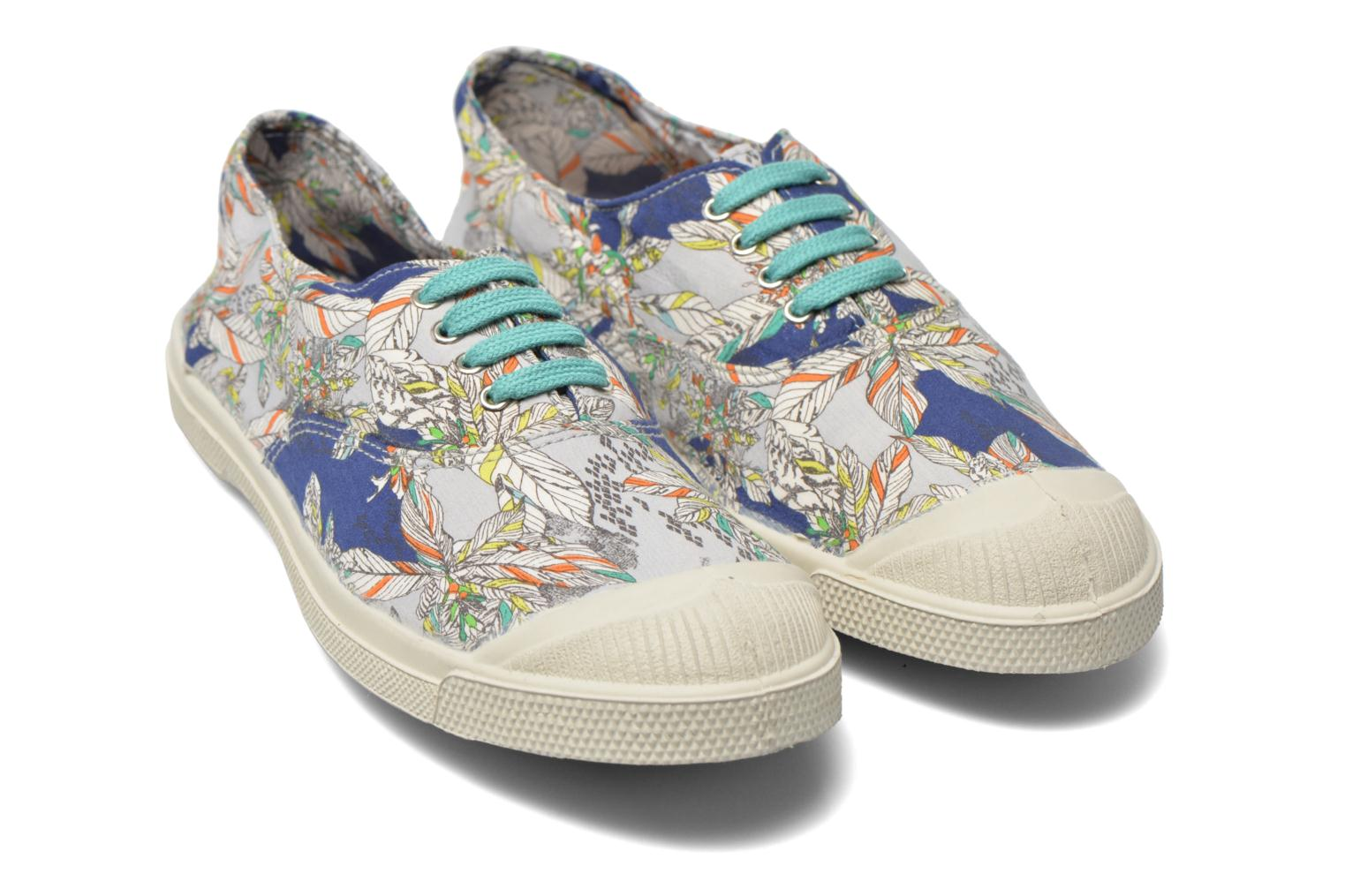 Trainers Bensimon Tennis Liberty Multicolor 3/4 view