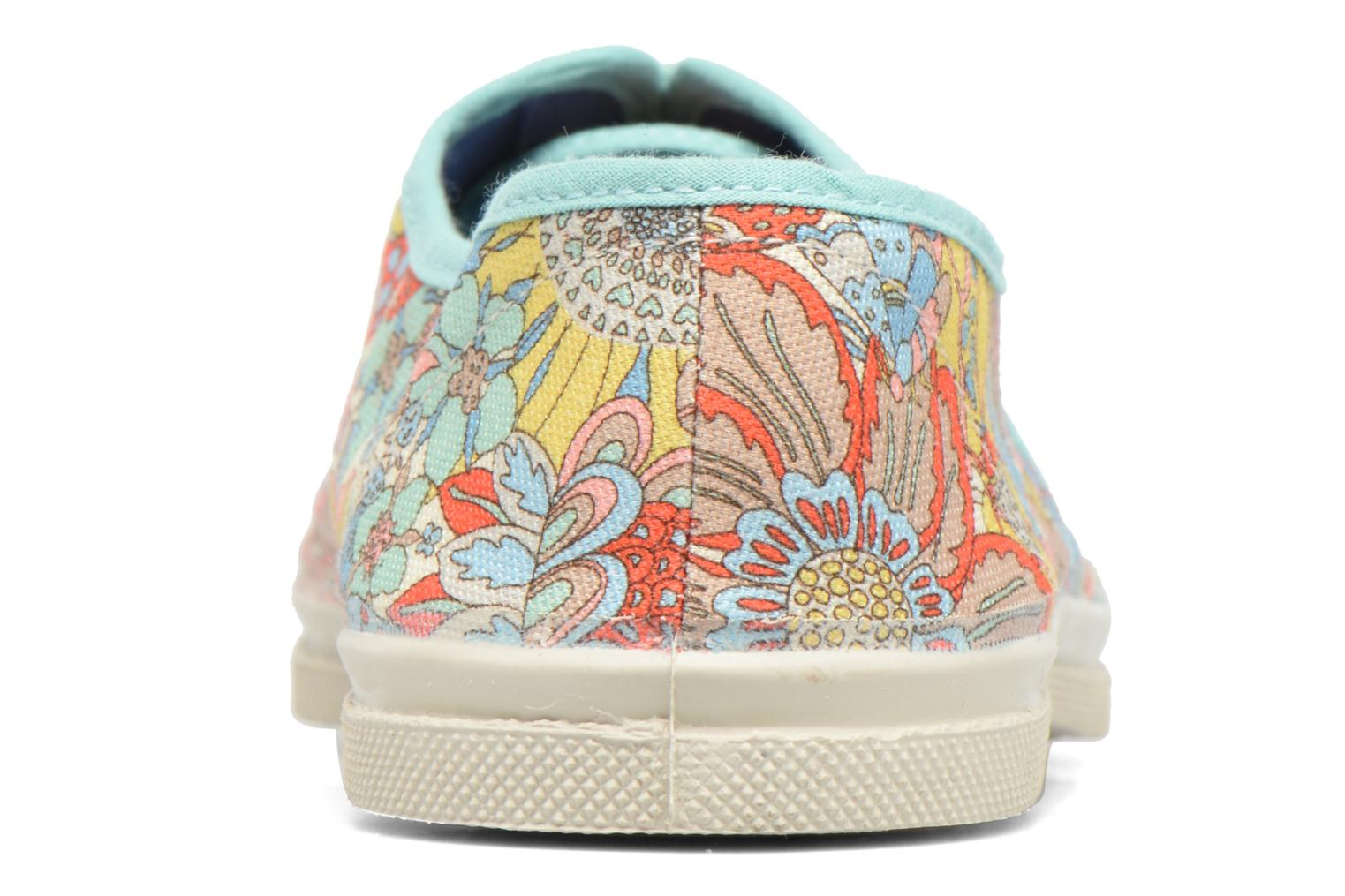 Trainers Bensimon Tennis Liberty Multicolor view from the right