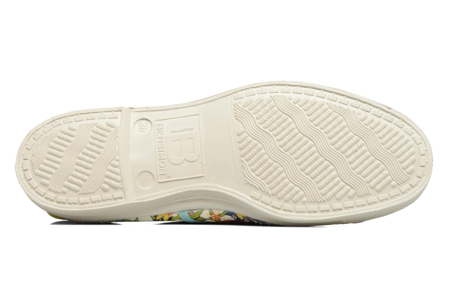 Baskets Bensimon Tennis Liberty Multicolore vue haut