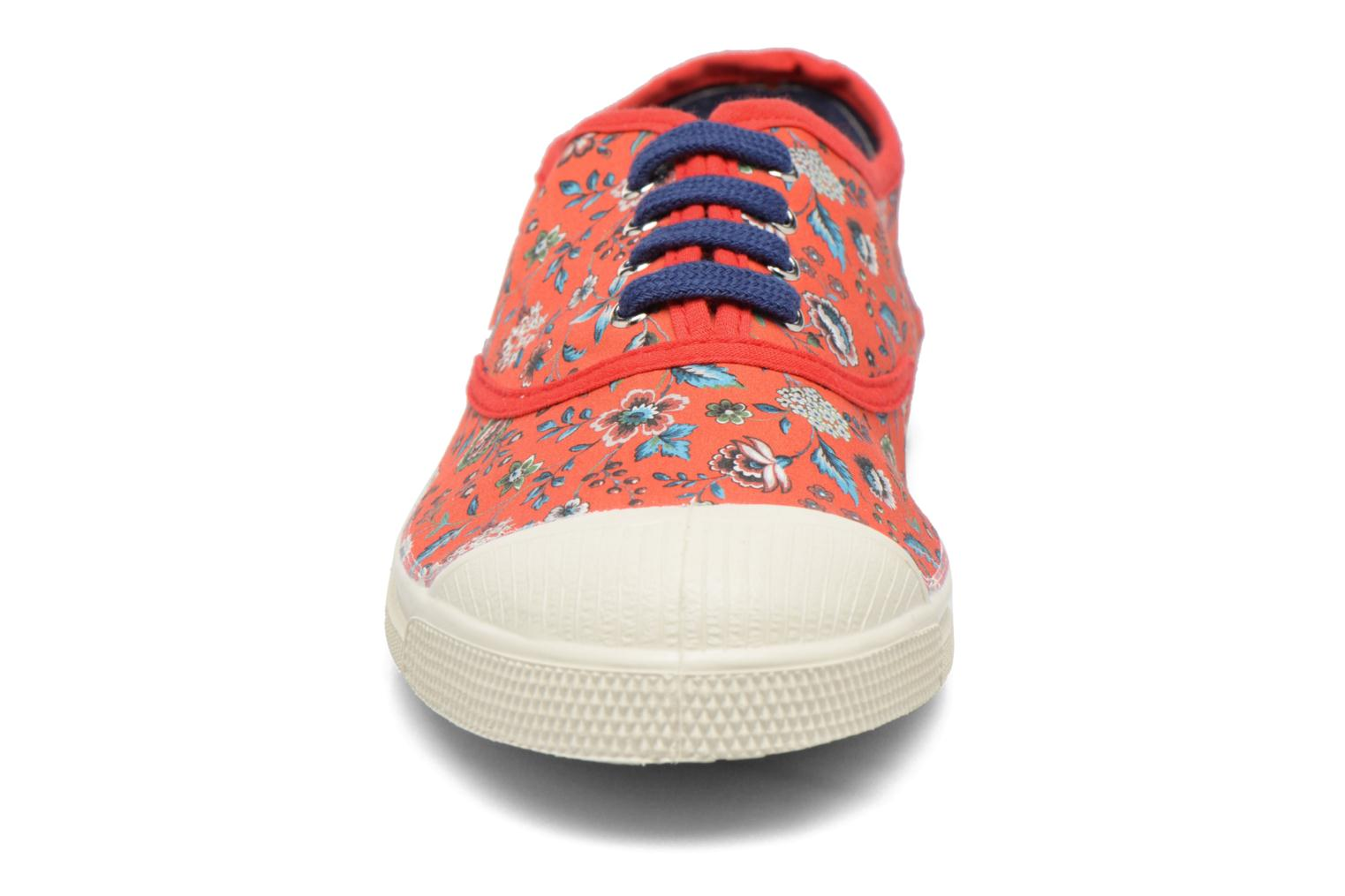 Trainers Bensimon Tennis Liberty Red model view