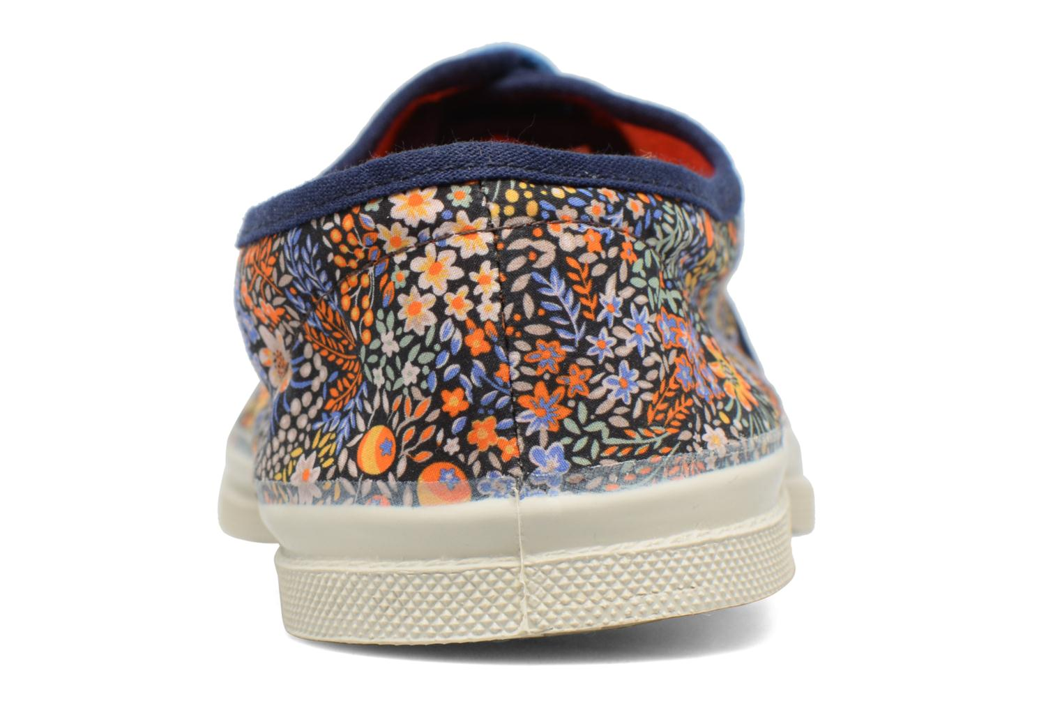 Trainers Bensimon Tennis Liberty Orange view from the right