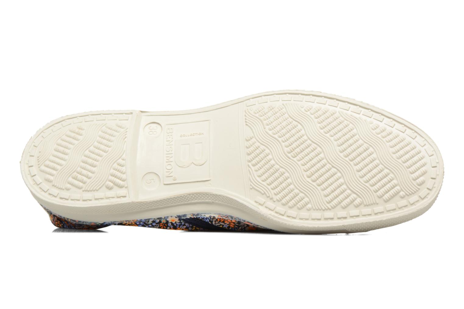 Trainers Bensimon Tennis Liberty Orange view from above