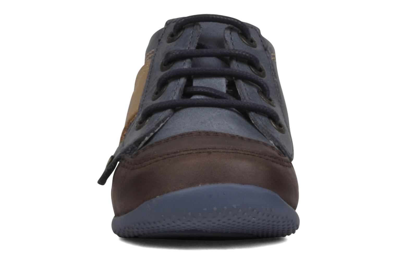 Bottines et boots Kickers Biped Enfant Bleu vue portées chaussures