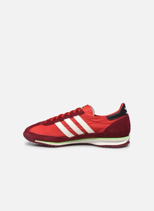 Baskets adidas originals SL 72 Rouge vue face