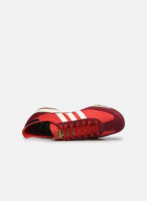 Baskets adidas originals SL 72 Rouge vue gauche
