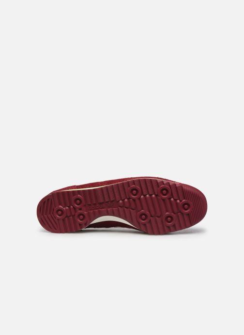 Sneaker adidas originals SL 72 rot ansicht von oben