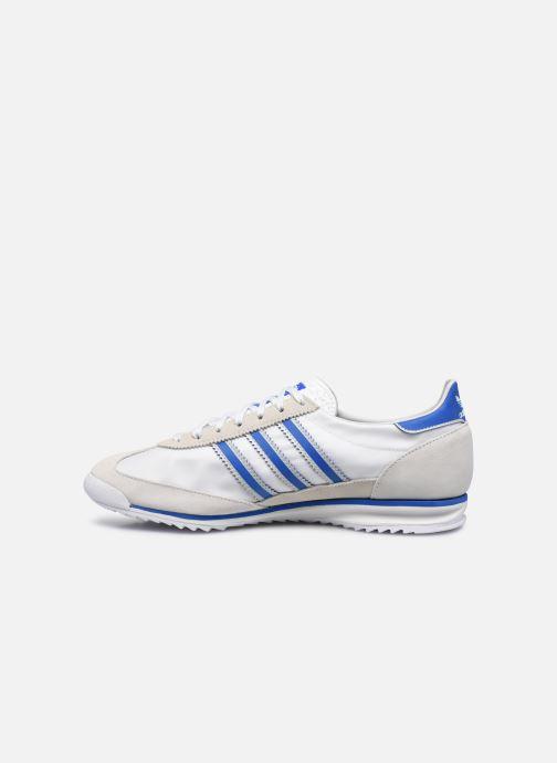 Sneaker adidas originals SL 72 weiß ansicht von vorne