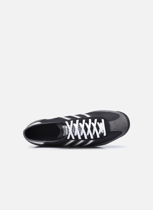 Baskets adidas originals SL 72 Noir vue gauche