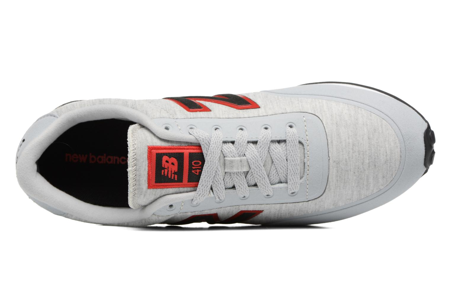 Baskets New Balance U410 Gris vue gauche