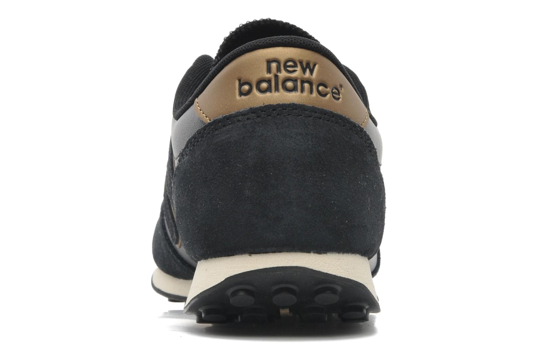 Baskets New Balance U410 Noir vue droite
