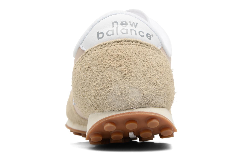Baskets New Balance U410 Beige vue droite