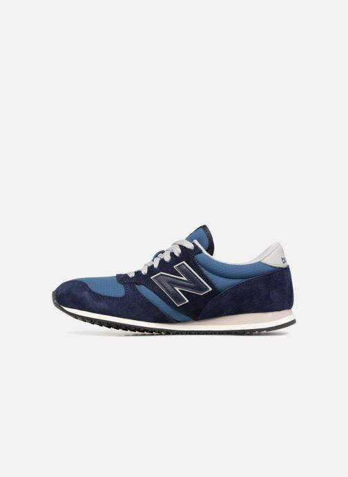 Sneakers New Balance U420 Azzurro immagine frontale