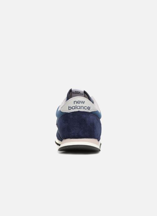 Sneakers New Balance U420 Azzurro immagine destra