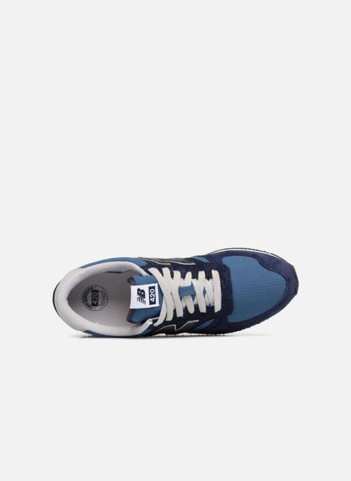 Sneakers New Balance U420 Azzurro immagine sinistra