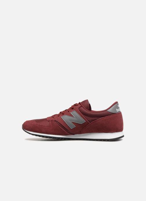 Sneakers New Balance U420 Bordeaux voorkant