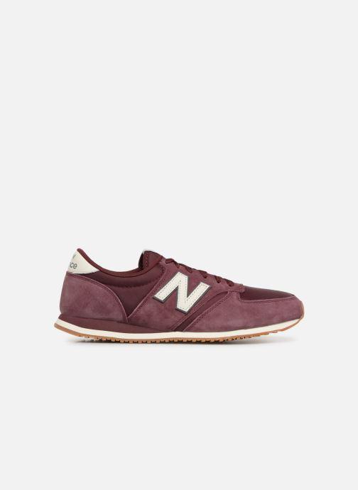 Sneaker New Balance U420 weinrot ansicht von hinten