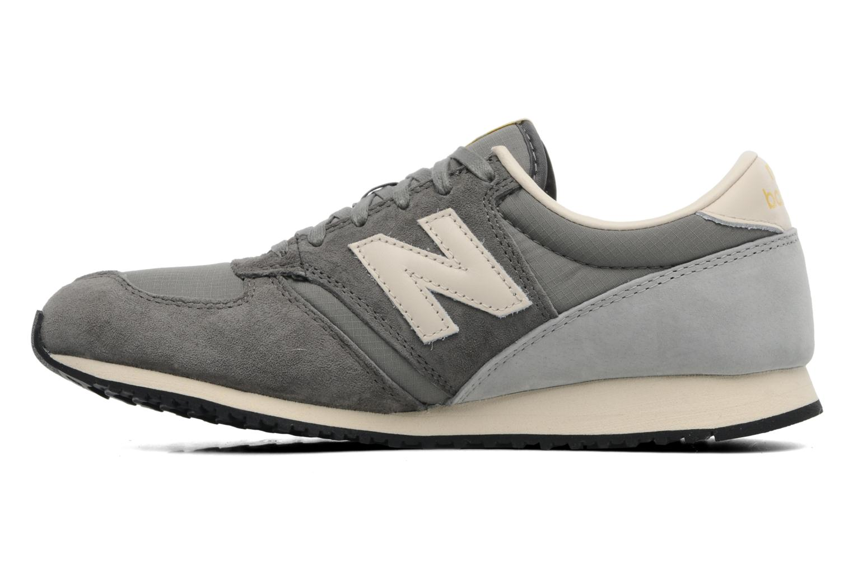 Sneakers New Balance U420 Grijs voorkant