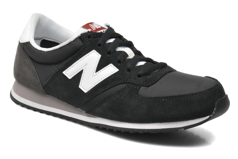 New Balance U420 (Noir) - Baskets en Más cómodo Super rabais
