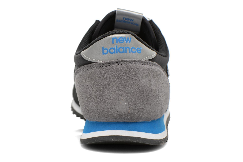 Sneaker New Balance U420 schwarz ansicht von rechts