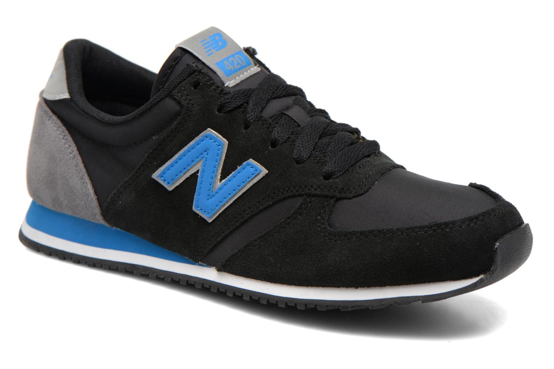 Sneaker New Balance U420 schwarz detaillierte ansicht/modell