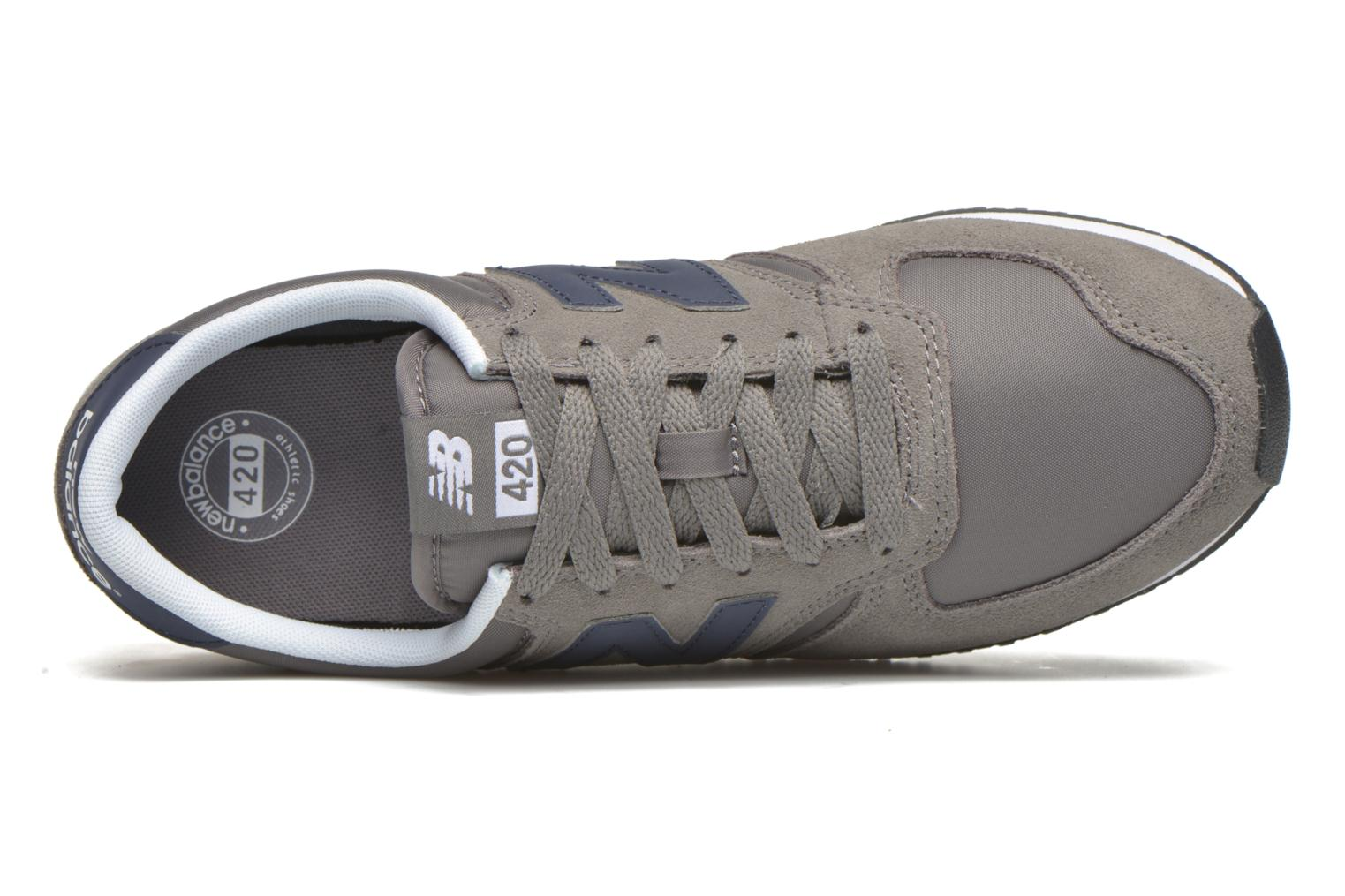 Trainers New Balance U420 Grey view from the left
