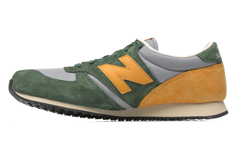 Sneaker New Balance U420 grün ansicht von vorne