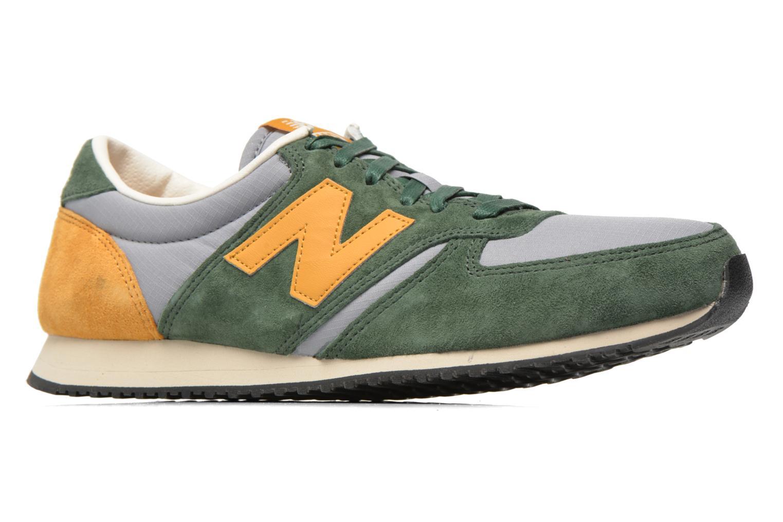 Sneaker New Balance U420 grün ansicht von hinten
