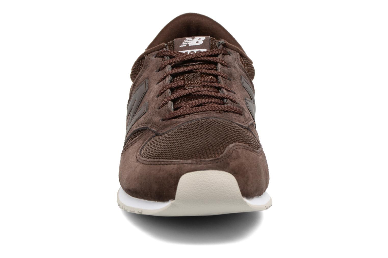 Sneaker New Balance U420 braun schuhe getragen