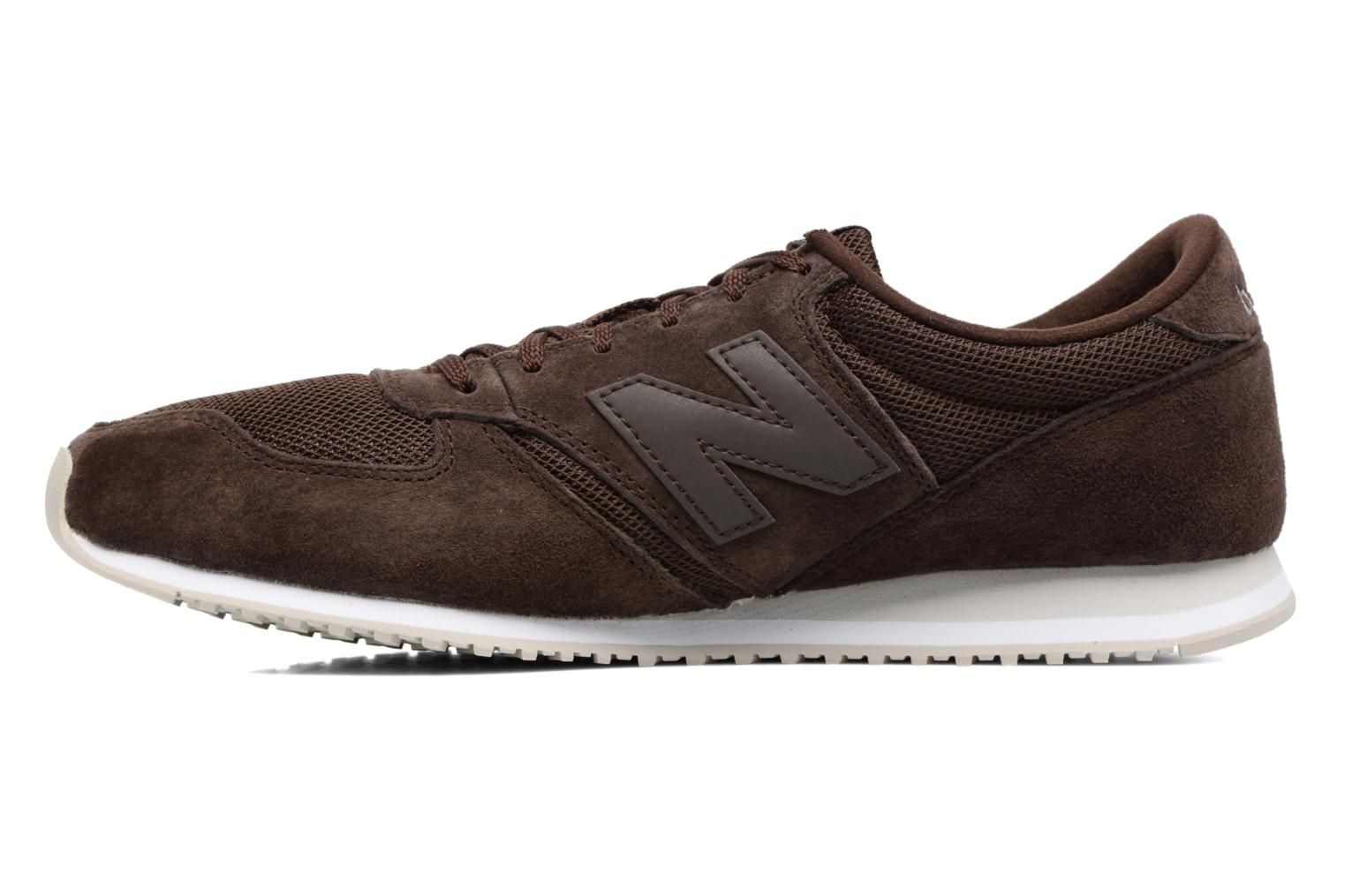 Baskets New Balance U420 Marron vue face
